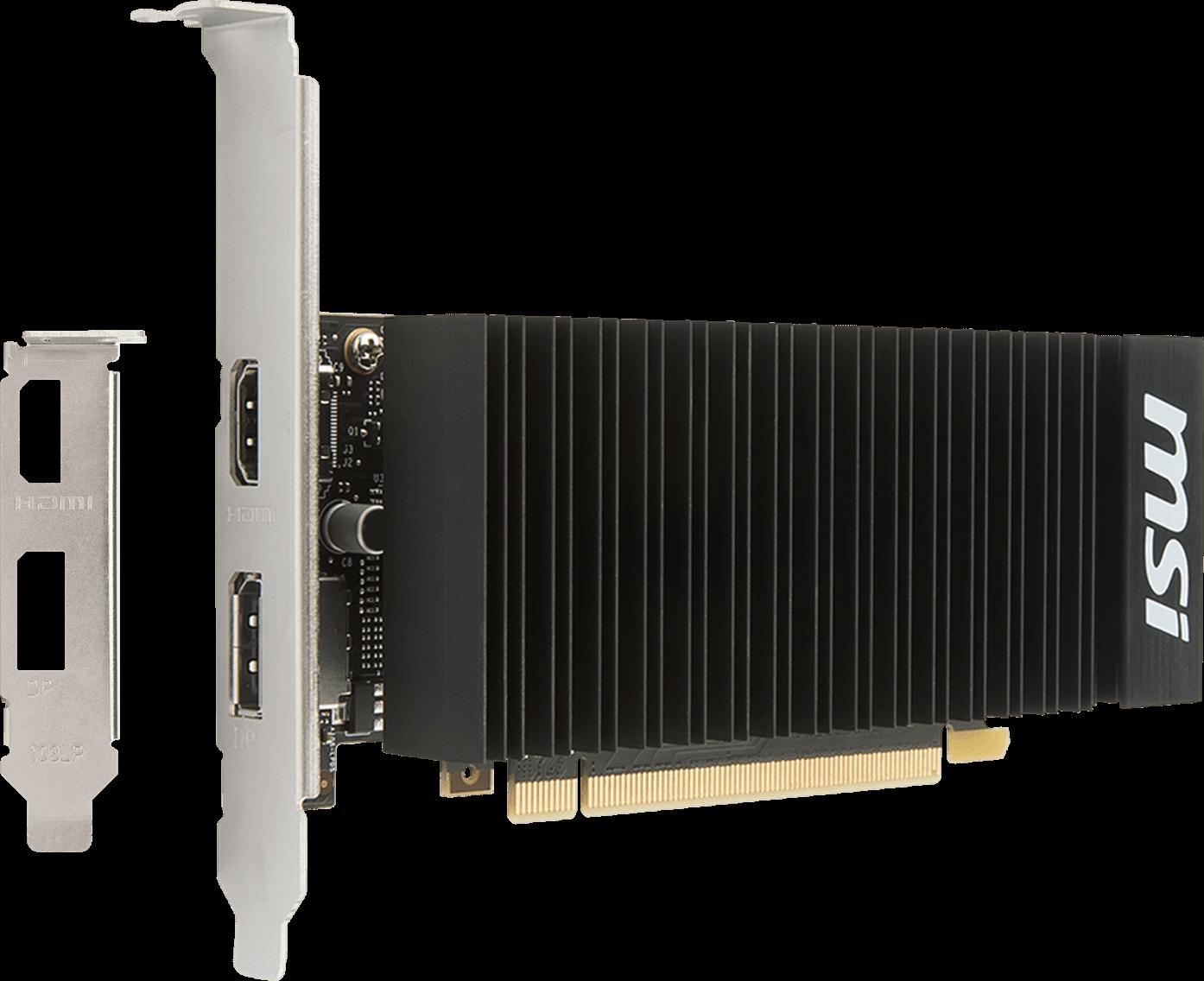 MSI GeForce GT 1030 HDMI/DisplayPort - passiv - super silent