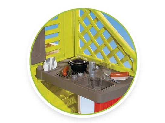 Spielhaus Mit Sommerküche : Smoby natur haus mit sommerküche günstig im online shop