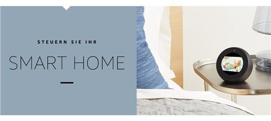 amazon echo spot weiss b074bkbrbg g nstig im online. Black Bedroom Furniture Sets. Home Design Ideas