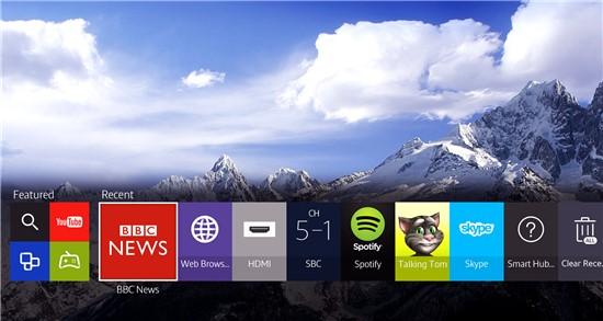 Ein Smarter Fernseher Zeigt Ihnen Den Inhalt Umgehend An